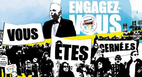 Manifestation du 27 septembre prohain, nous y serons!!!  Rassemblement au Parc de l'Amérique française à Québec